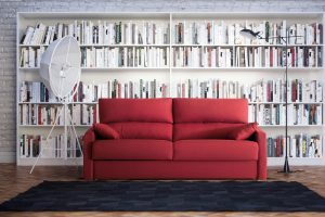 Sofá petit rojo